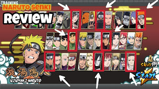 Naruto Senki Mod Apk No Cooldown, Full Characters, and Lots of Blood