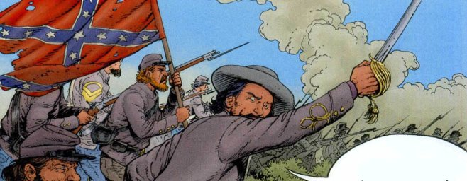 Enciclopedia visual del teniente blueberry general pickett for Teniente blueberry