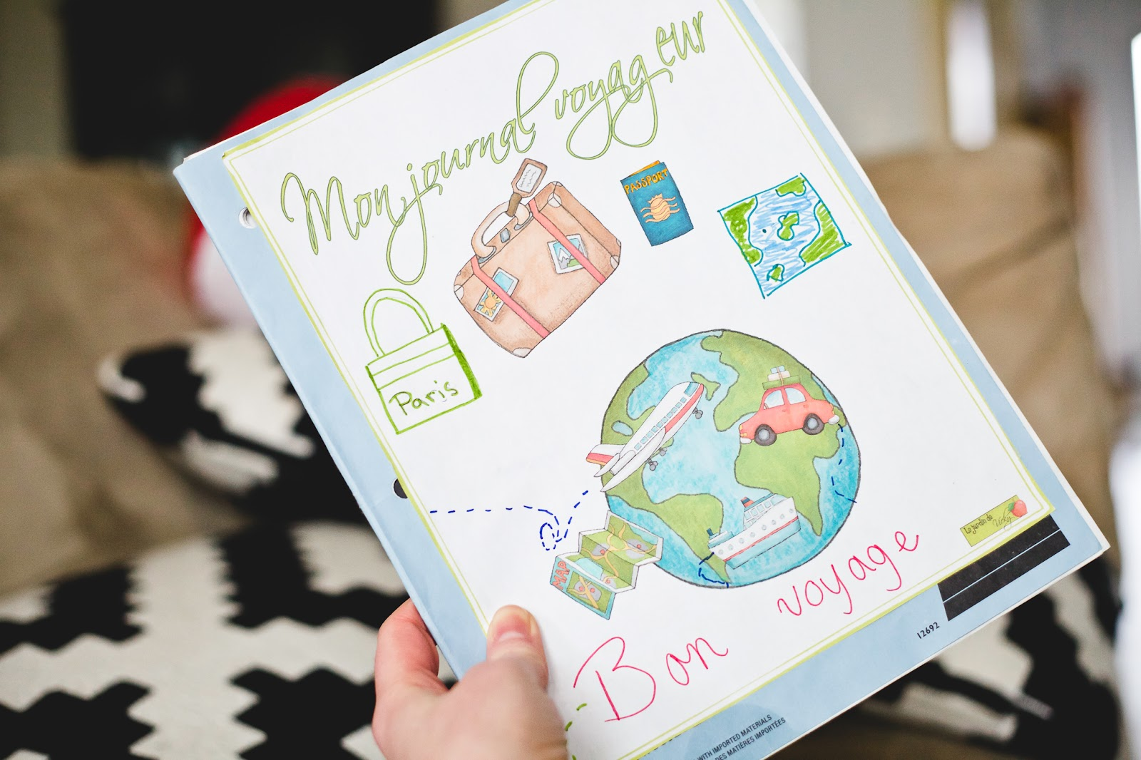 Mon Journal Voyageur Un Beau Projet Pour Faire Voyager Vos Eleves Autour Du Globe Hey Vanmay