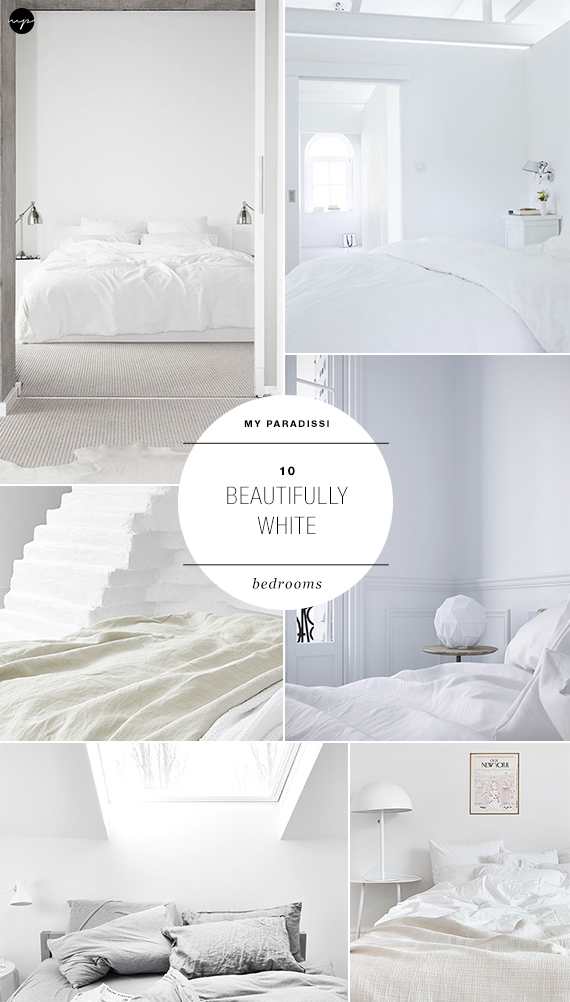White bedrooms to make you dream