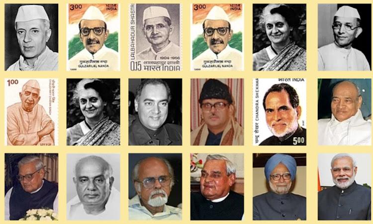 भारत के अब तक के प्रधानमंत्रियों की सूची | List of all Prime Ministers of India (1947 - 2021)