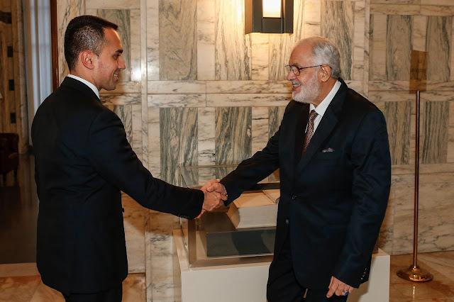 روما، وزير خارجية إيطاليا يلتقي نظيره الليبي وناقشا أبعاد الإتفاقية الليبية-التركية وتأثيرها على مؤتمر برلين