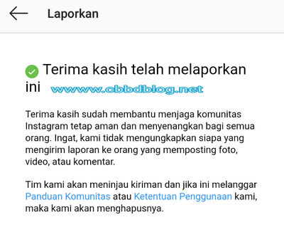 cara hapus blokir instagram