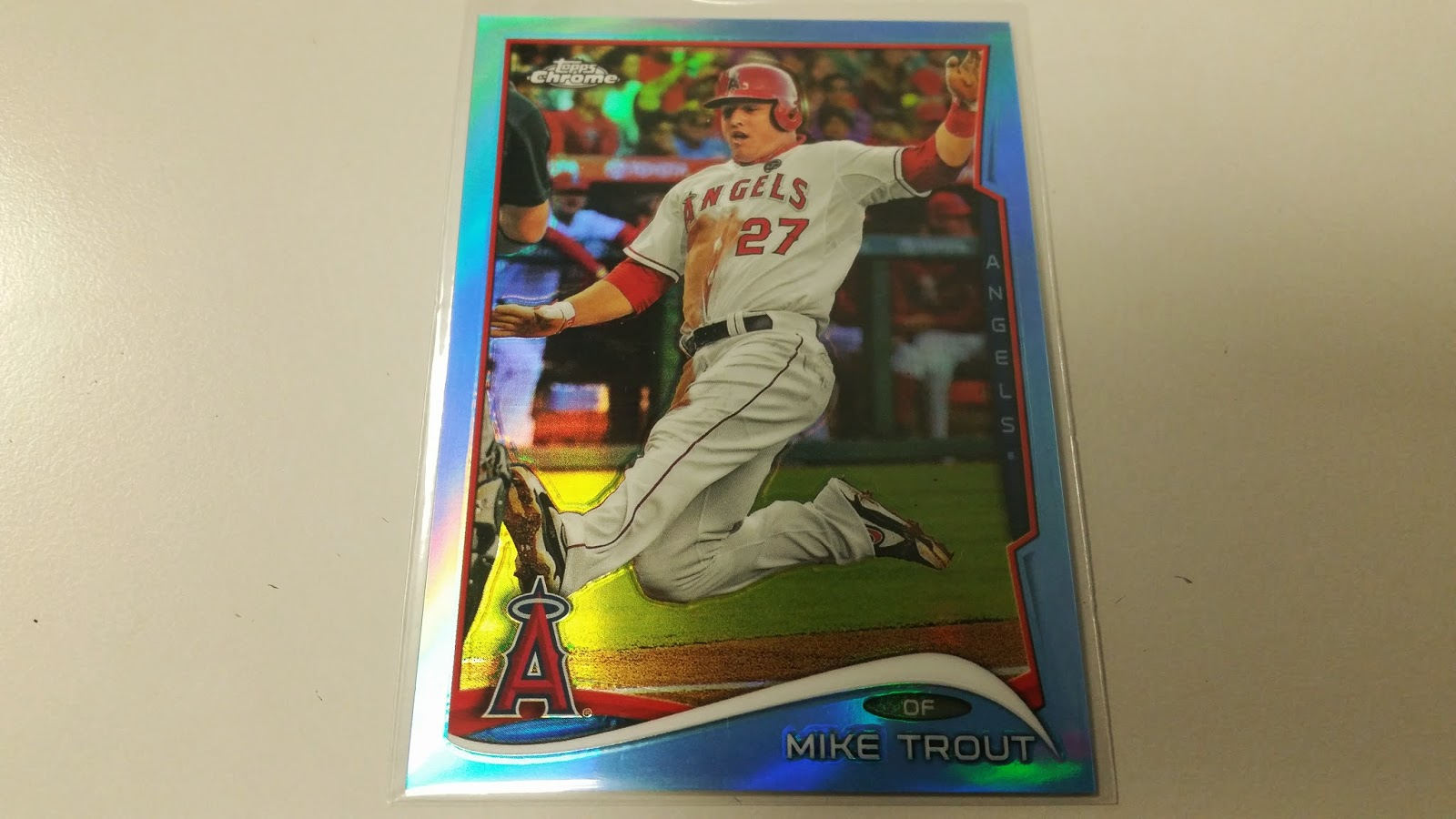 Dodger Penguin Card Of The Day 2014 Topps Chrome Mike