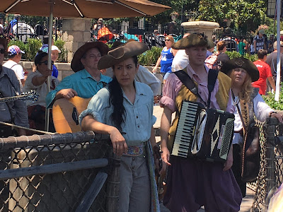 Bootstrappers on the Rafts to Tom Sawyer Island Disneyland