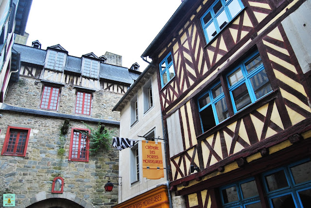 Calles de Rennes, Francia