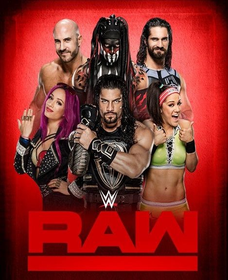 WWE Monday Night Raw (27 April 2020) English 400MB HDTV 480p
