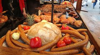 krakow typical sausage poland
