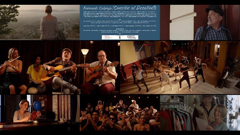 Fernando Cabreja - ¨Canción al desaliento¨ - Videoclip - Director: Jimmy. Portal Del Vídeo Clip Cubano. Música cubana. Cuba. TOP TEN 7D.