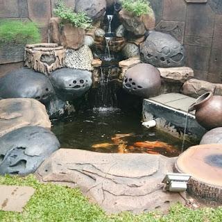 kolam tebing