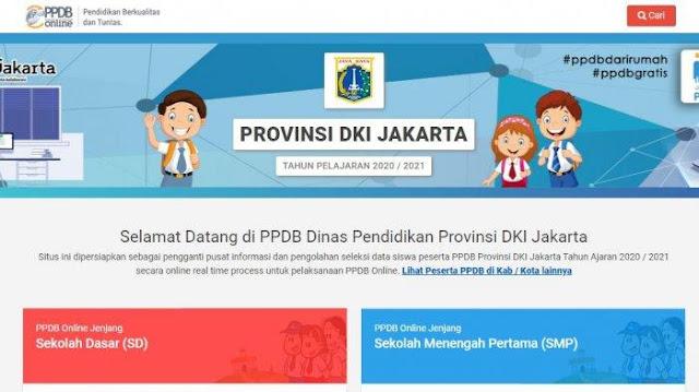 PPDB Online DKI Jakarta Resmi Dibuka Hari Ini