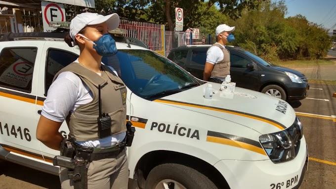 CORONAVÍRUS | Policiais do 26º BPM de Cachoeirinha recebem EPIs