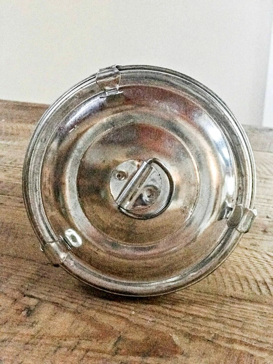DIY Vintage Bakeware Pumpkin