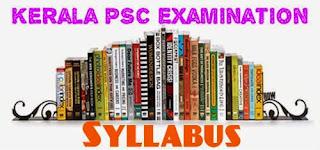 Kerala PSC FOREST RANGER Examination Full Syllabus