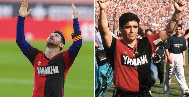 بواتينج: يجب على ميسي اللعب لـ نابولي تكريمًا لـ مارادونا