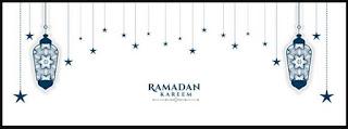 background ramadhan putih - kanalmu