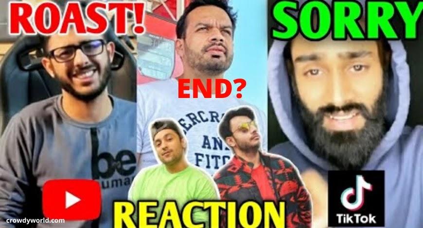 "YouTubers VS Tiktokers   Amir Siddiqui Says ""Sorry""   Angry Prash, Flying Beast, RawKnee Reply"