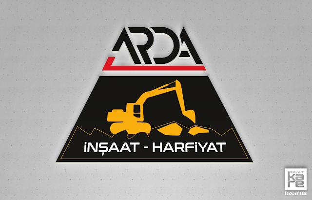 inşaat hafriyat logo tasarimi
