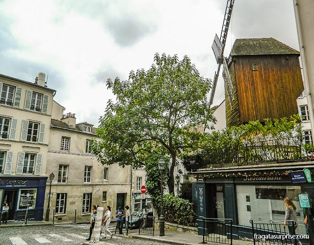 Moulin de la Galette, Montmartre, Paris