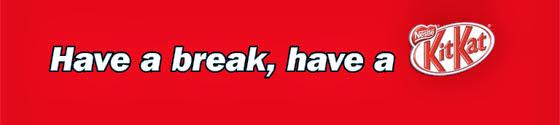 Image result for take a break have a kitkat