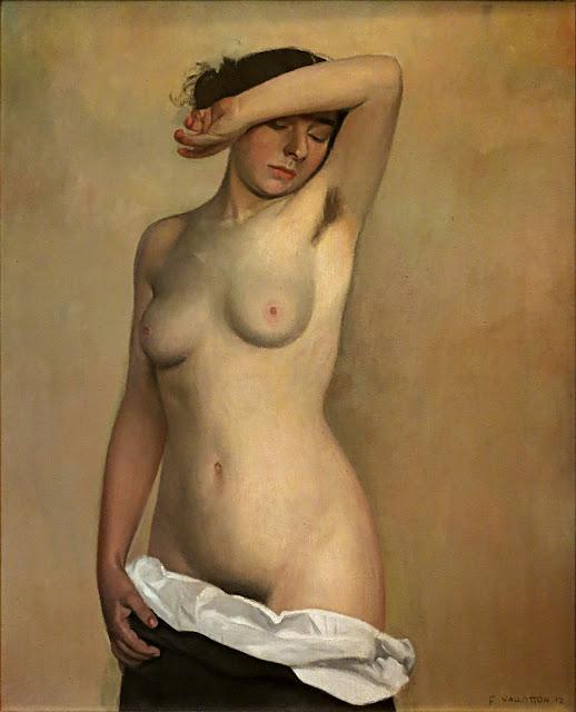 Felix Vallotton - Nudo femminile - erotismo - arte
