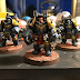 What's On Your Table: Space Wolves and Harlequinn