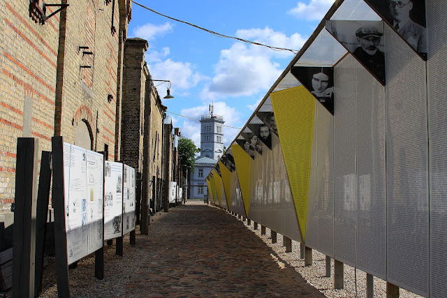 The Great Wall of the Riga Ghetto