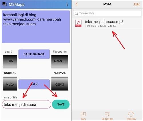 Cara Merubah Teks Menjadi Suara di Android Bahasa Indonesia