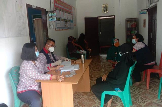 Pelaksanaan Vaksin Diwilayah Binaan, Personel Jajaran Kodim 0207/Simalungun Turut Dampingi Masyarakat Binaan