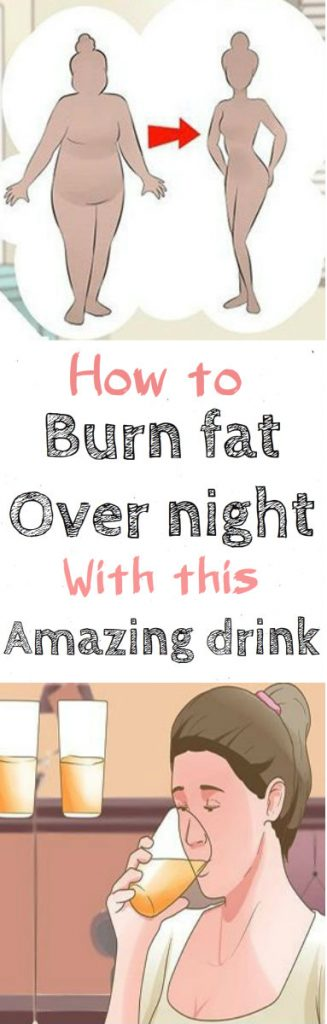 How to Burn Fat Overnight With This Amazing Drink