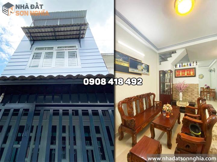 Bán nhà quận 12 hẻm 129 đường TL15 phường Thạnh Lộc MS087