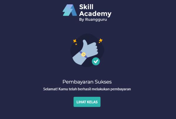 cara beli kelas skill academy dengan kartu prakerja