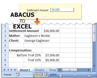 Abacus, salah satu Software Spreadsheet yang beredar di masyarakat