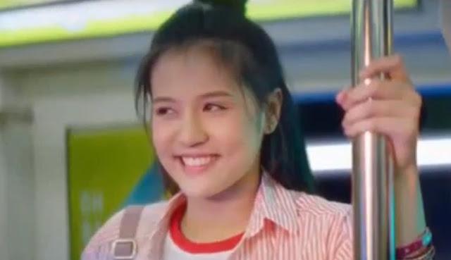 cewek thailand di kereta api iklan susu