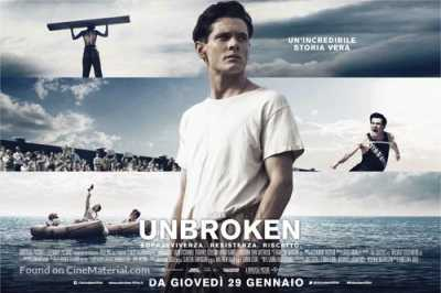 Unbroken 2014 Movie 300MB Free Download Dual Audio BRRip