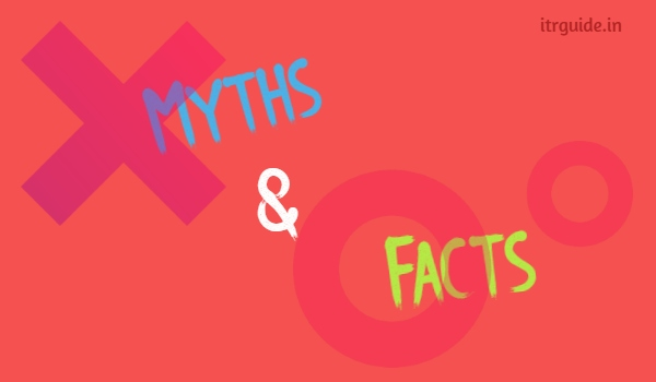 7 Common Myths about Income Tax Return Filing