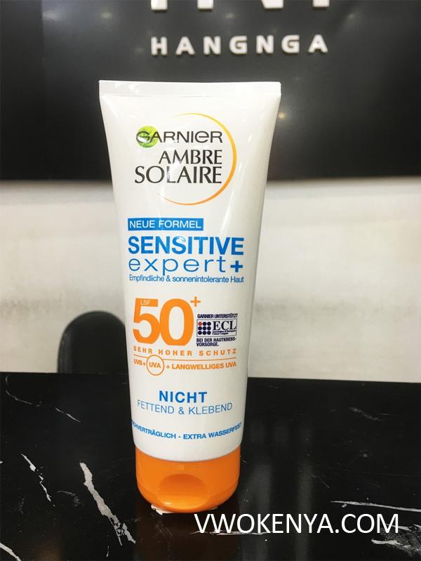 Kem chống nắng Garnier Ambre Solaire SPF 50+
