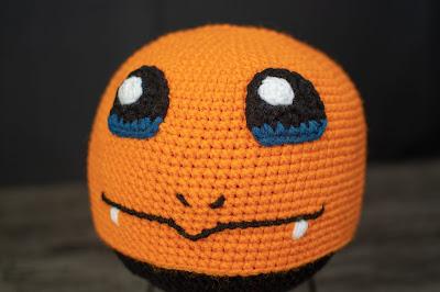 Pokemon Charmander Hat - Crochet Pattern cea155f39da