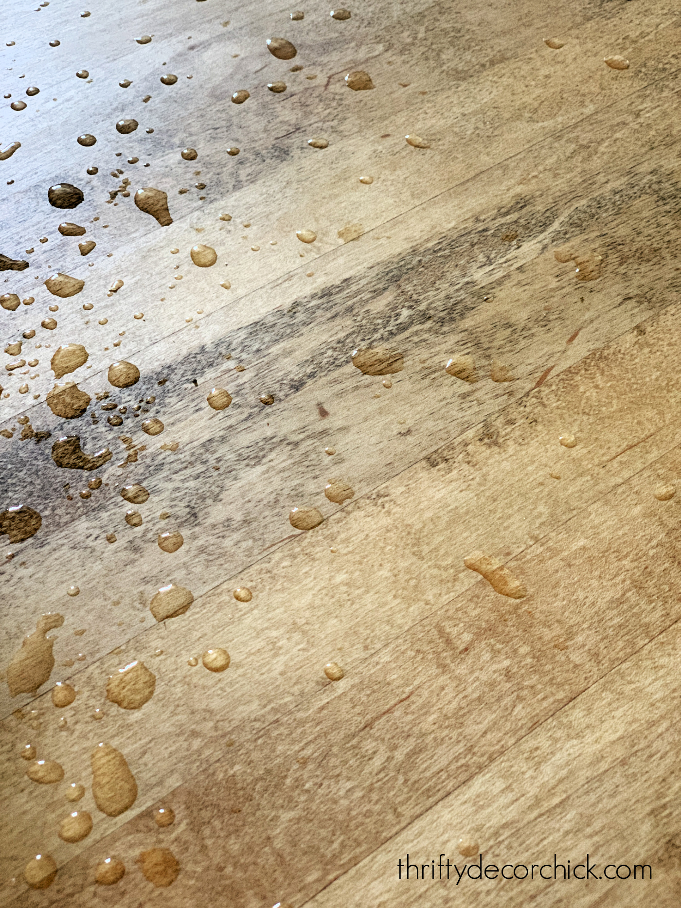 how to seal wood counters