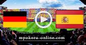 نتيجة مباراة اسبانيا والمانيا بث مباشر كورة اون لاين 17-11-2020  دوري الأمم الأوروبية