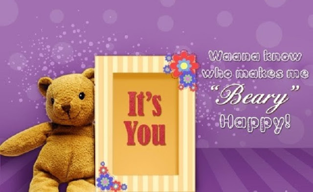 Teddy Day wishes quotes images, happy Teddy Day wishes quotes images