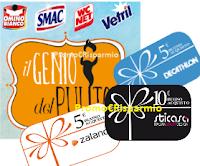 Logo Buoni spesa da 5 e 10 euro : premio sicuro per Decathlon, Zalando, Au-Gusto e Sticasa/Stikid