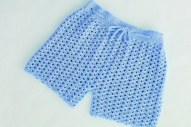 5 - Crochet Imagen Pantalón o short a crochet y ganchillo por Majovel Crochet