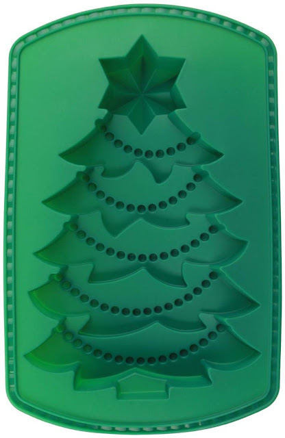 Tannenbaum-Backform aus Silikon