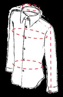 como saber talla de camisa para hombre