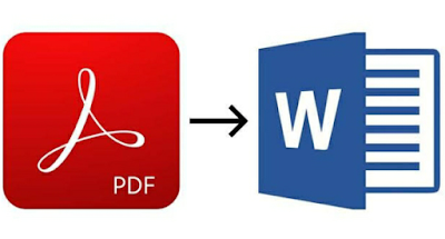 Cara Merubah Tulisan PDF ke Word Dengan Aplikasi Converter