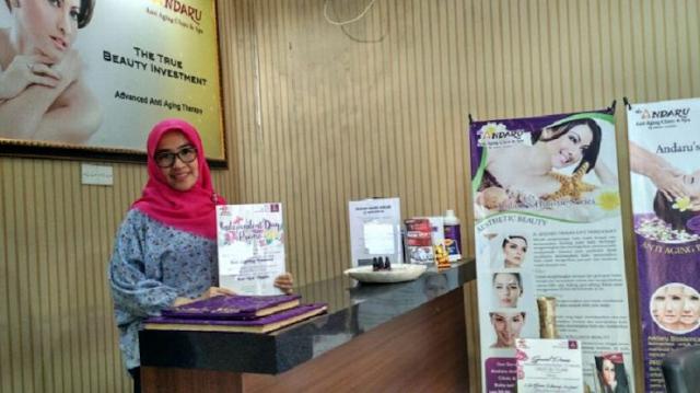 Lowongan Kerja Manager The Andaru Anti Aging Clinic dan Spa Cilegon