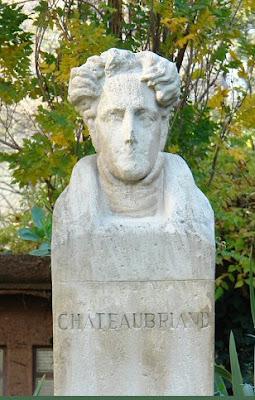 Buste de Chateaubriand