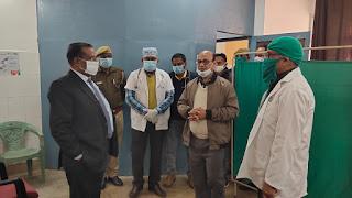 वैक्सीनेशन का ड्राई रन पूर्वाभ्यास किया गया  | #NayaSaberaNetwork