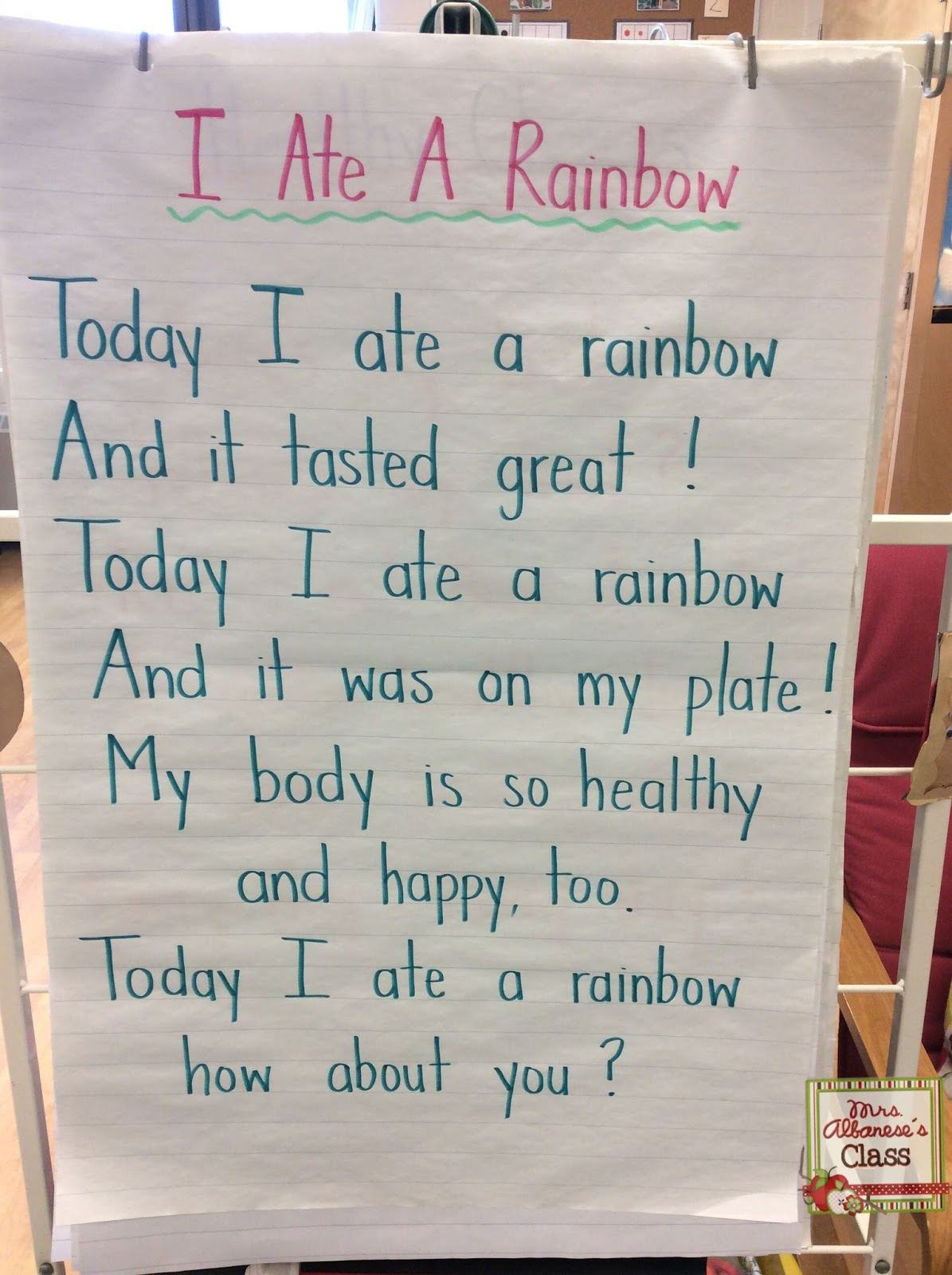 Mrs Albanese S Kindergarten Class Weekly Wrap Up